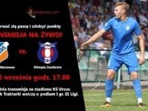 KS Ursus Warszawa 2:1 Olimpia Zambrów