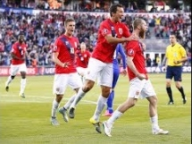 Norwegia 2:0 Cypr