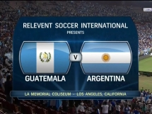 Argentyna 3:0 Gwatemala