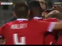 Luksemburg 4:0 Mołdawia