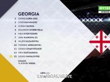 Gruzja 1:0 Łotwa