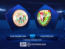 Zagłębie Lubin 4:0 Śląsk Wrocław
