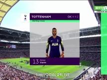 Tottenham Hotspur 1:2 Liverpool