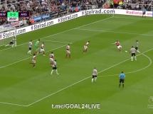 Newcastle United 1:2 Arsenal Londyn
