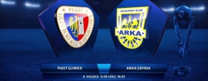 Piast Gliwice 1:0 Arka Gdynia