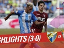 Malaga CF 3:0 Cordoba