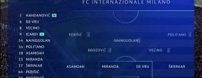 Inter Mediolan 2:1 Tottenham Hotspur