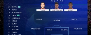Ajax Amsterdam 3:0 AEK Ateny