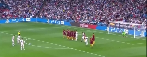 Real Madryt 3:0 AS Roma
