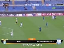 Lazio Rzym 2:1 Apollon Limassol