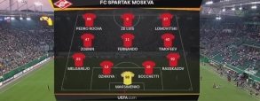 Rapid Wiedeń 2:0 Spartak Moskwa