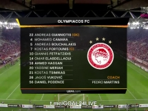 Olympiakos Pireus 0:0 Betis Sewilla