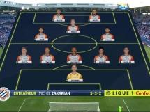 Caen 2:2 Montpellier