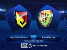 Jagiellonia Białystok 0:4 Śląsk Wrocław