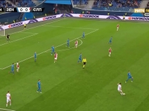 Zenit St. Petersburg 1:0 Slavia Praga
