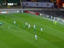 Worskła Połtawa 1:2 Sporting Lizbona