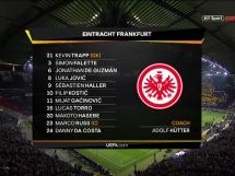 Eintracht Frankfurt 4:1 Lazio Rzym