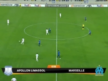Apollon Limassol 2:2 Olympique Marsylia
