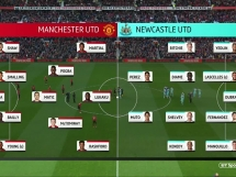 Manchester United 3:2 Newcastle United