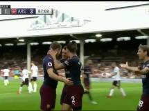 Fulham 1:5 Arsenal Londyn
