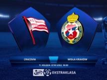 Cracovia Kraków 0:2 Wisła Kraków