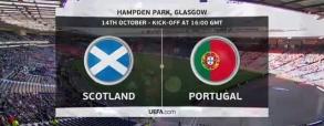 Szkocja 1:3 Portugalia