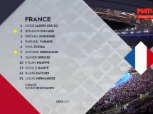 Francja 2:1 Niemcy