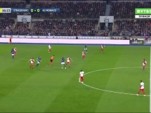 Strasbourg 2:1 AS Monaco