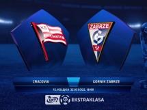 Cracovia Kraków 2:0 Górnik Zabrze