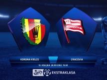 Korona Kielce 0:1 Cracovia Kraków