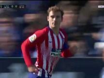 Leganes 1:1 Atletico Madryt