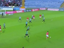 Santa Clara 1:2 Sporting Lizbona