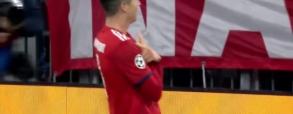 Drugi gol Lewego z AEK Ateny!