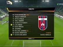 MOL Vidi 1:0 PAOK Saloniki