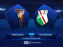 Pogoń Szczecin 2:1 Legia Warszawa