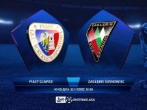 Piast Gliwice 0:0 Zagłębie Sosnowiec