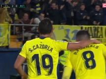 Villarreal CF 2:1 Betis Sewilla