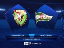 Śląsk Wrocław 0:2 Lechia Gdańsk