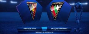 Pogoń Szczecin 1:0 Zagłębie Sosnowiec
