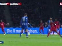 Hertha Berlin 1:0 Eintracht Frankfurt