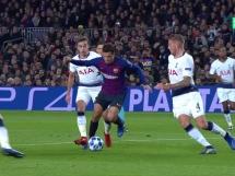 FC Barcelona 1:1 Tottenham Hotspur