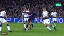 Remis Barcelony z Tottenhamem! [Filmik]