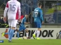 Slavia Praga 2:0 Zenit St. Petersburg