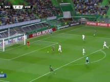Sporting Lizbona 3:0 Worskła Połtawa