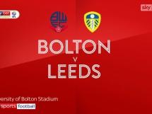Bolton 0:1 Leeds United