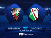 Zagłębie Sosnowiec 3:2 Legia Warszawa