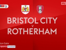 Bristol City 1:0 Rotherham United