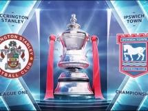 Accrington 1:0 Ipswich Town