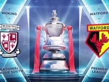 Woking FC 0:2 Watford