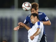 Japonia 2:1 Uzbekistan